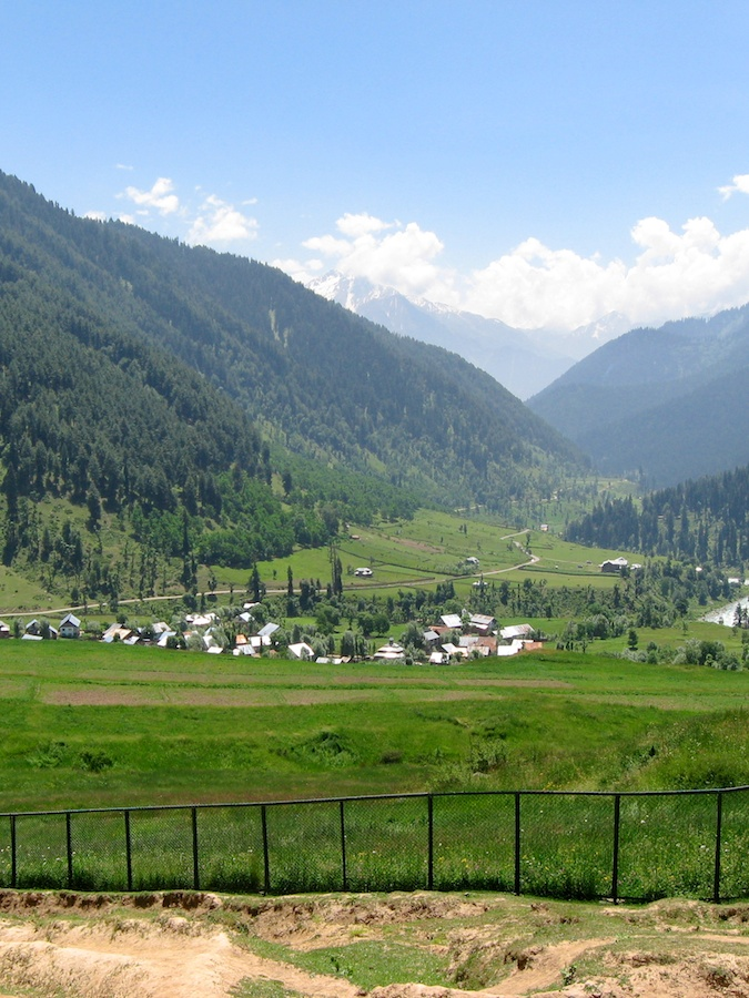 Overlooking the mountain village of Aru, near Pahalgam, Kashmir