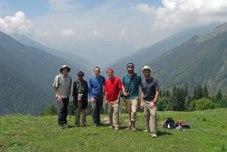 View from a trek near Naranag, Kashmir