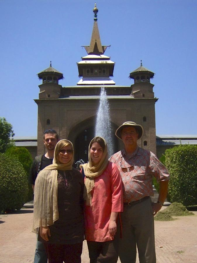 Jamia Masjid,  Srinagar, Kashmir