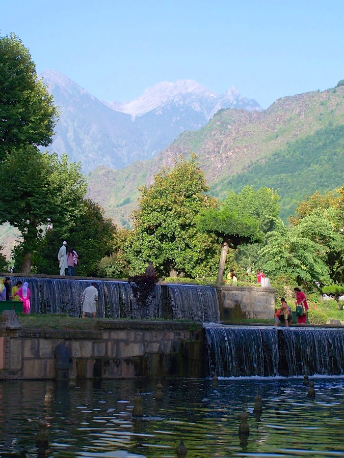 Shalimar Garden, Srinagar, Kashmir